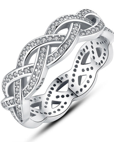 Anar Fashion Cute Twisted Ring