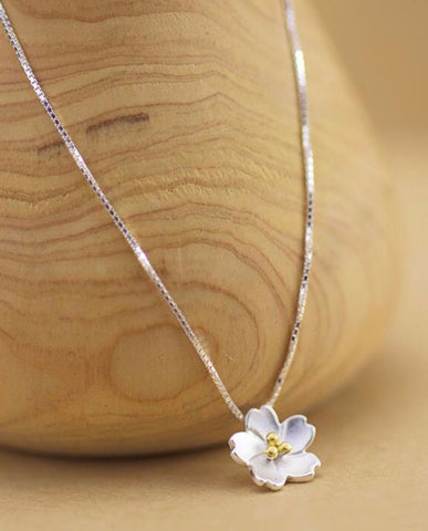 Anar Fashion Unico Flower Necklace