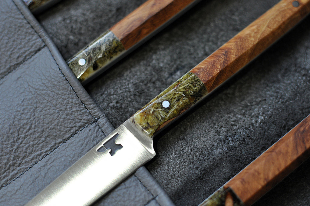 L'enclume Steak Knives Detail