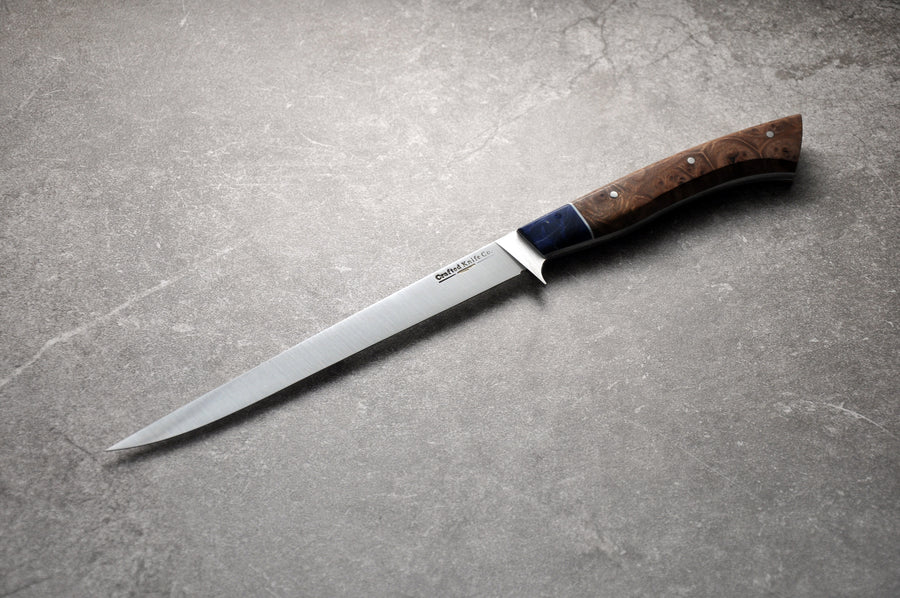 7 Inch Stainless Steel Boning Knife With Maple & Elm Handle