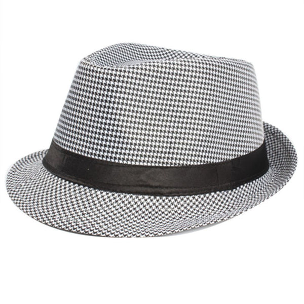 The Huddy Smooth Jazz Fedora (Multi Color) - Fadhatters