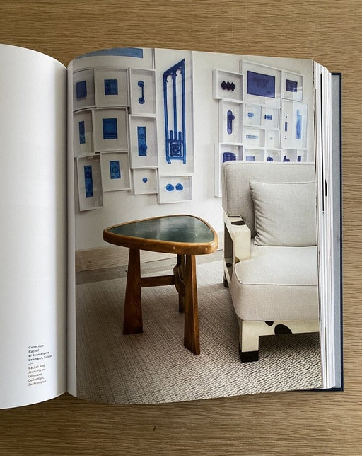 Living with Charlotte Perriand - table - books