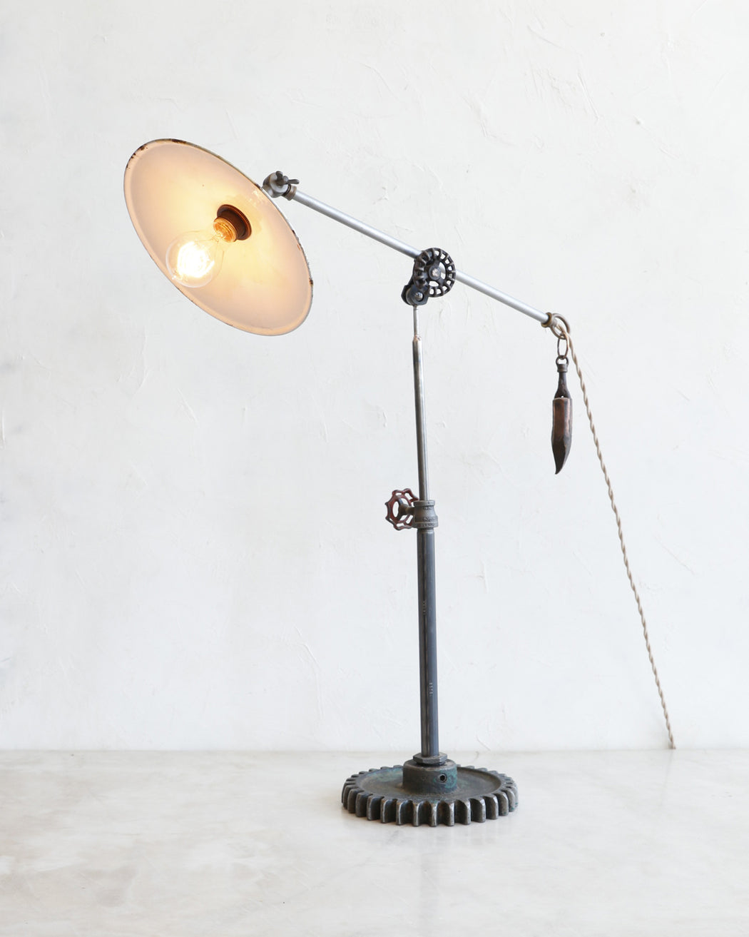 RTO Found Object Lamp #38