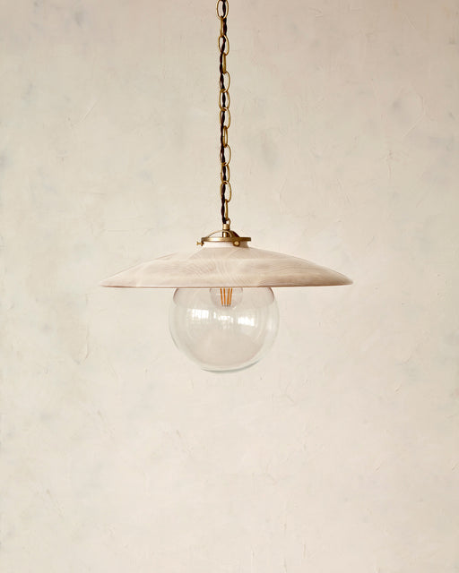 "Edmund Pendant Light - 18"" Clear Maple"
