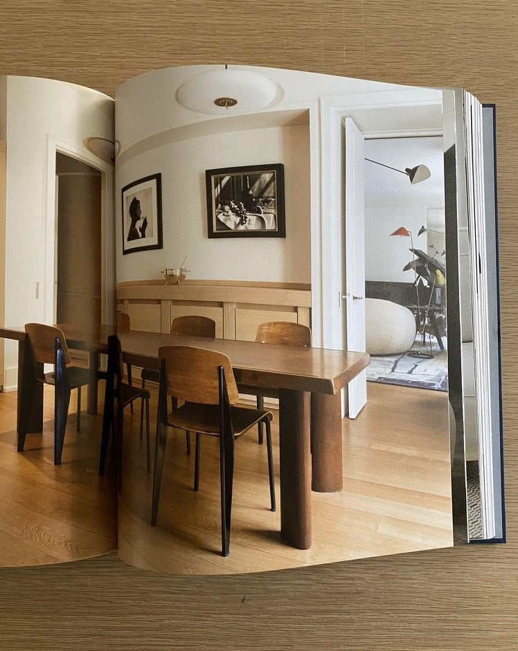 Living With Charlotte Perriand - Dining table - books