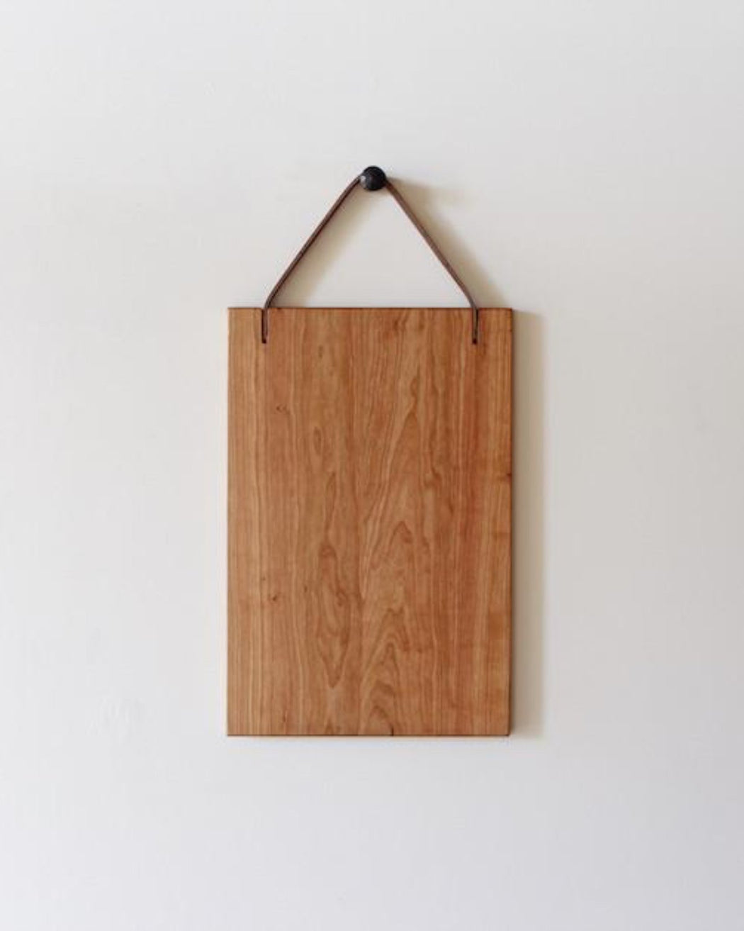 Lostine 12 x 18 cherry and leather cutting board philadelphia