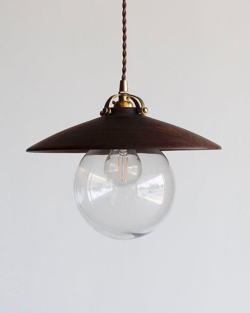 Lostine Edmund pendant light walnut