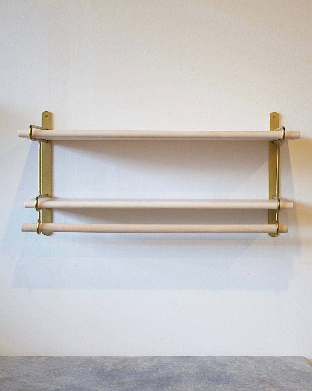 Logan Wall Rack - Double