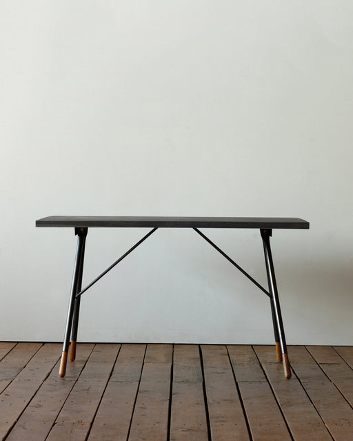 Lostine Brandywine Desk oak iron dark