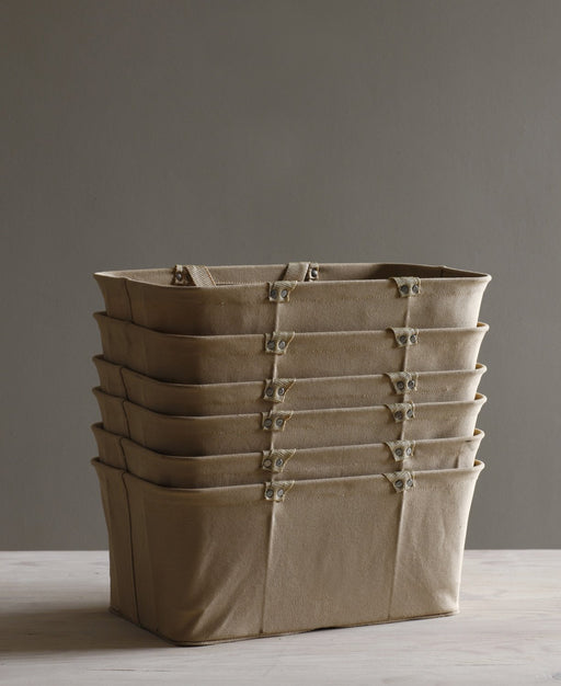 Canvas Shopping Basket - Organization - Lostine