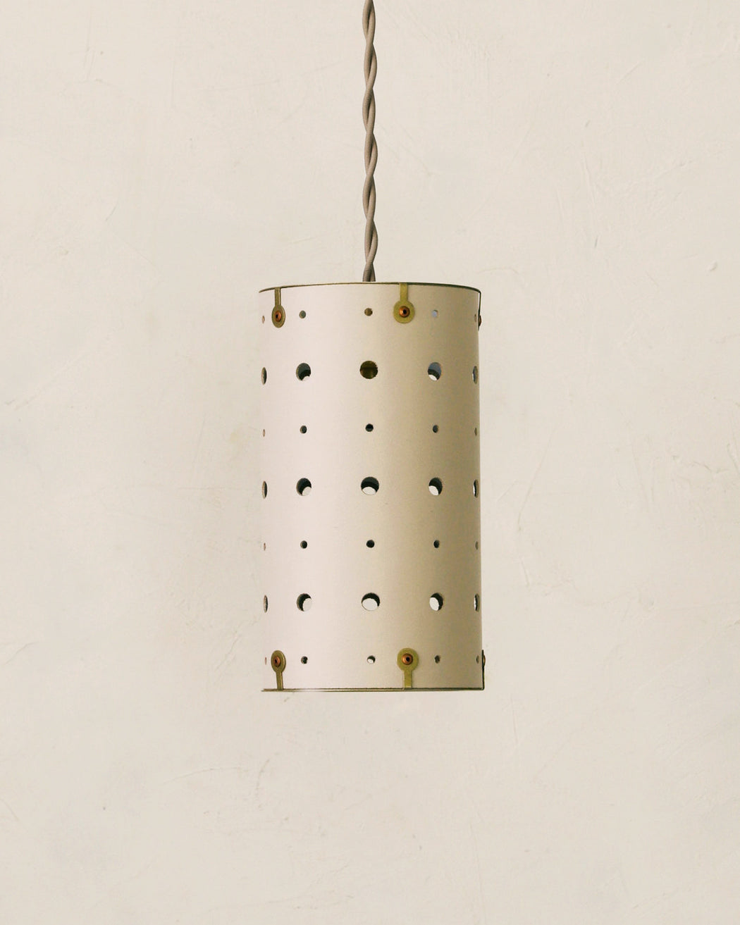 LOSTINE DOGWOOD LEATHER CELESTE PENDANT LIGHTING