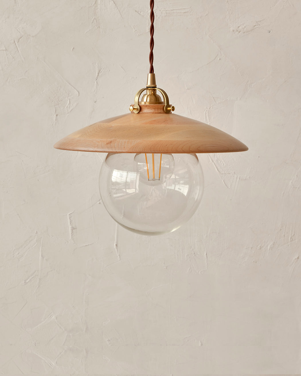 Edmund Pendant Light - Natural Maple