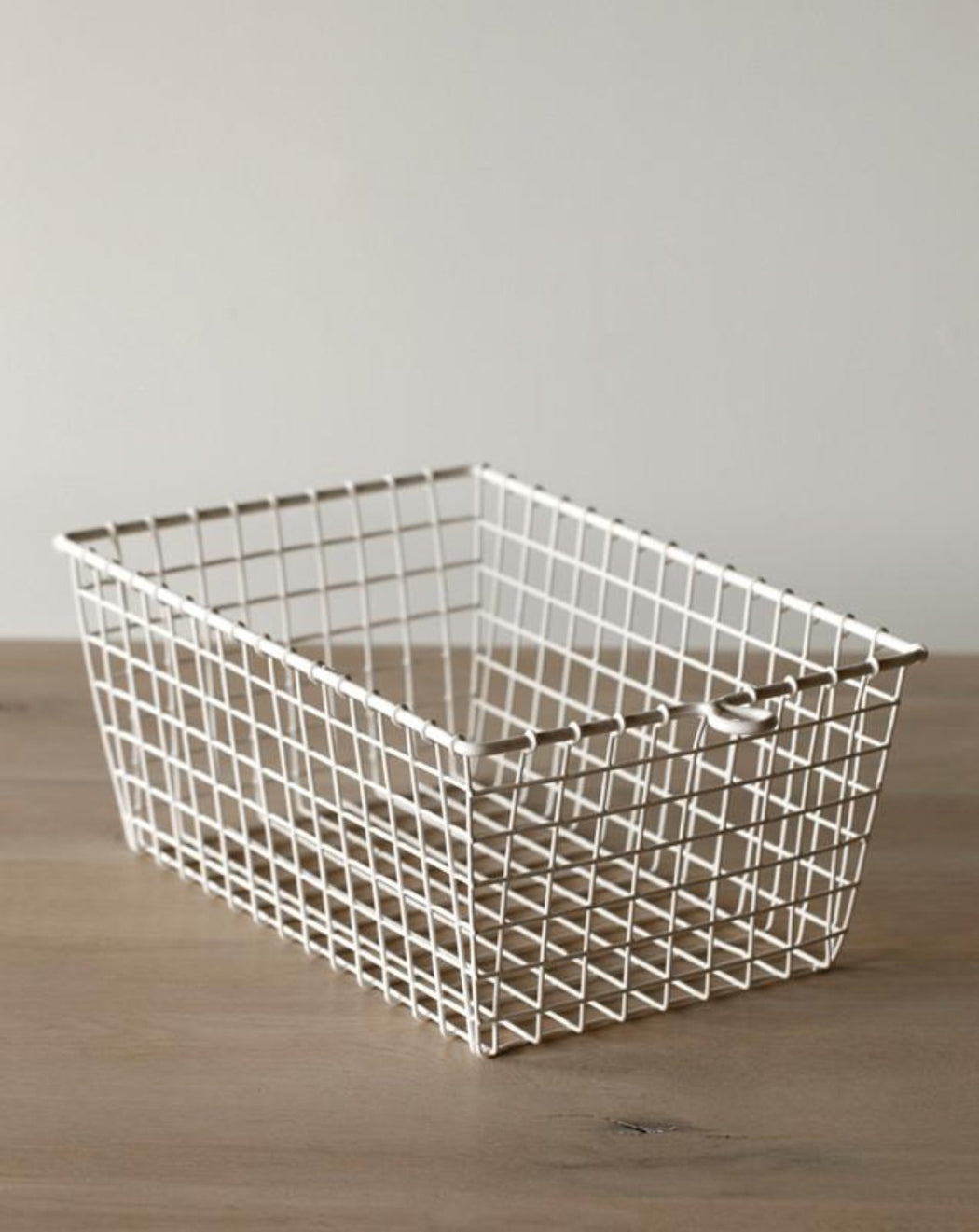 Wire Gym Basket - White - Organization - Lostine