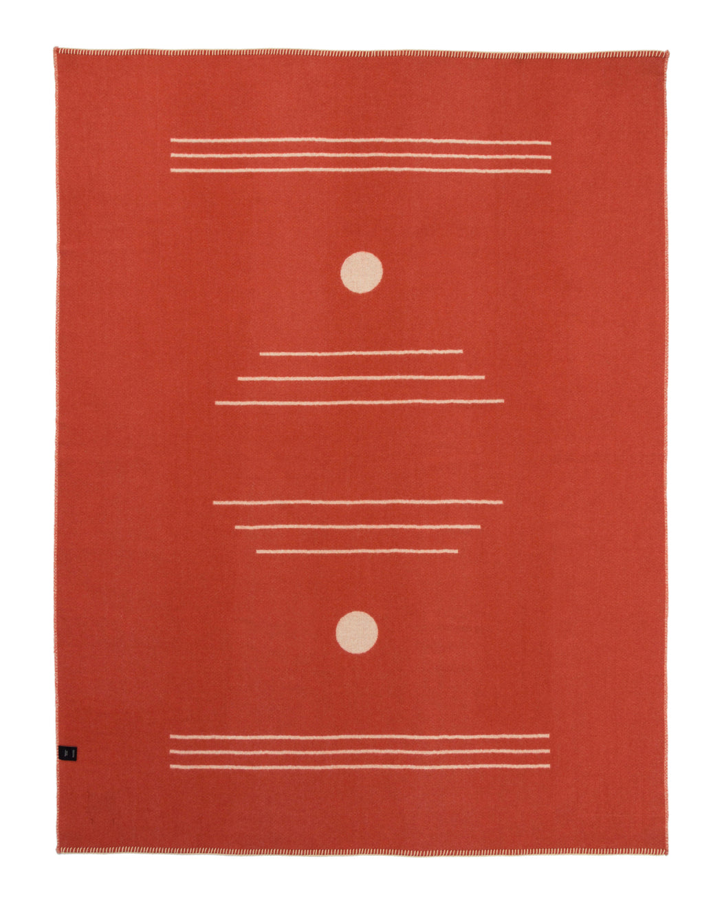 Harvest Moon Reversible Throw - Terracotta/Ivory