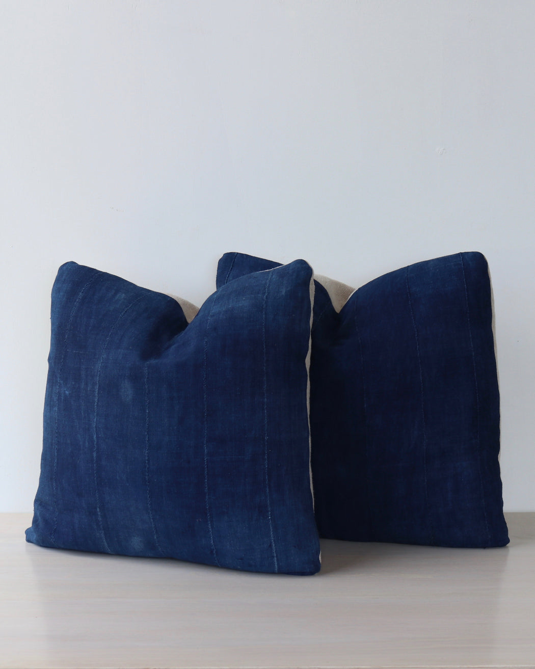 Dark Indigo Vintage Pillows - Pair 10 - Decorative Accessories - Lostine