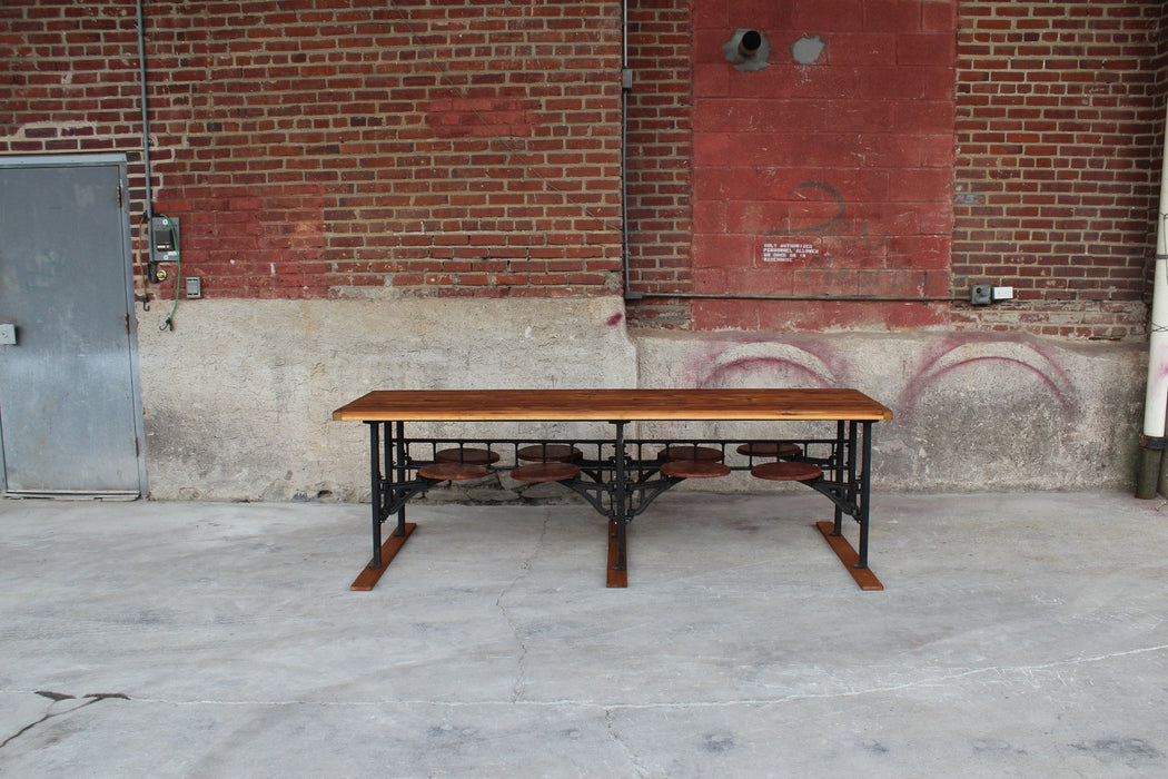 Cafeteria Table - Vintage Industrial Style - Tables - Lostine
