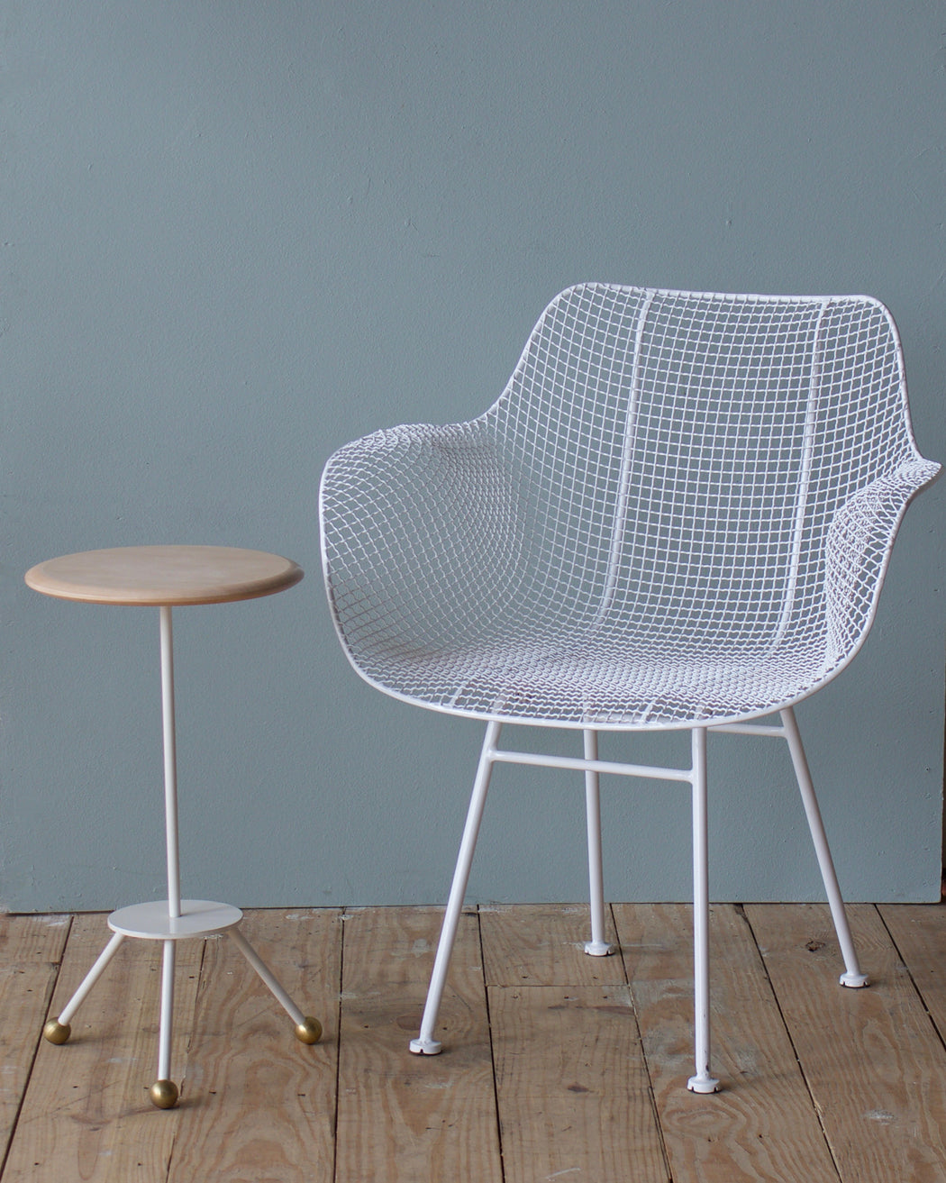 Biscayne Armchair - White