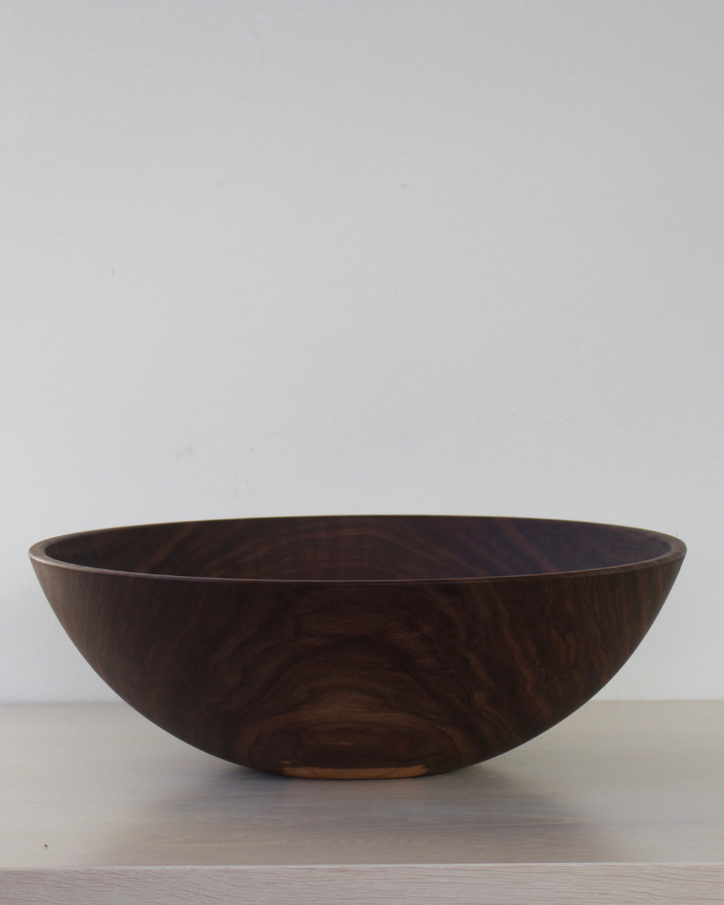 Extra Large Wooden Bowl - Black Walnut