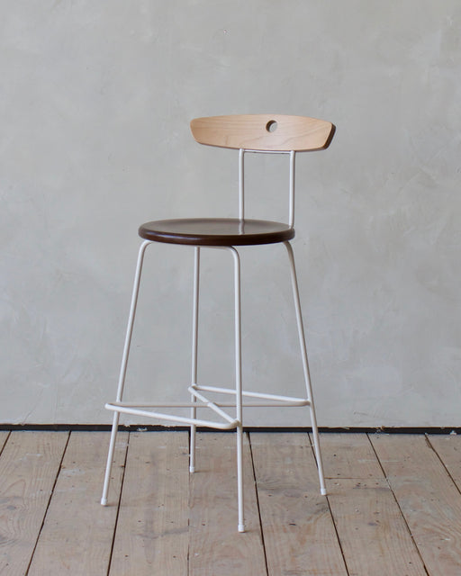 LOSTINE ANNA BAR STOOL - CREAM
