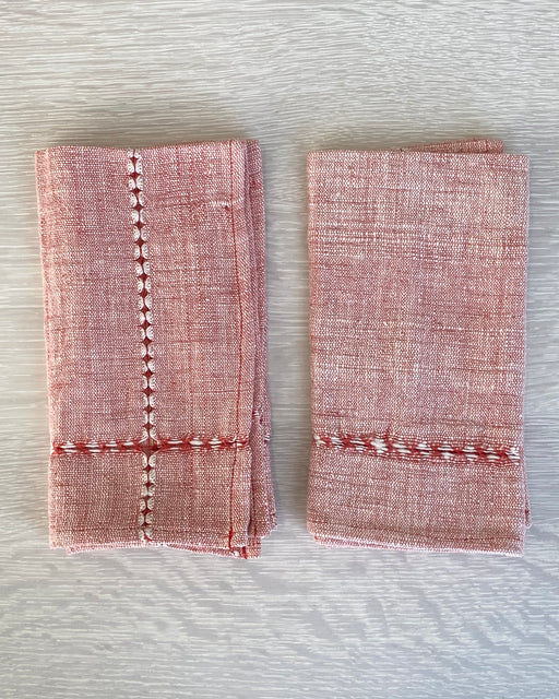 Pulled Cotton Napkin - Set of Two