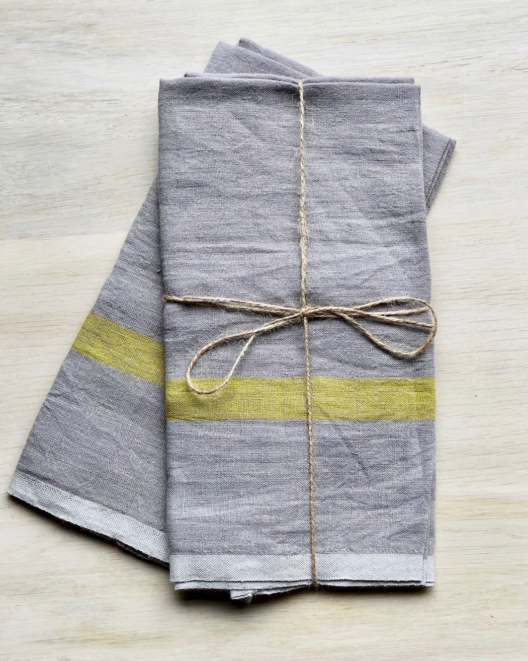 Linen Tea Towels / Set 2