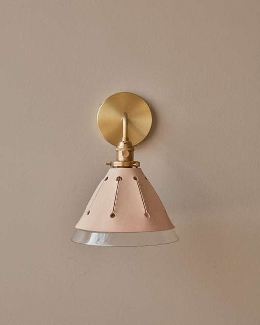 Hardwired Dot Sconce - Natural