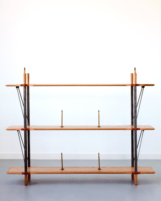 LOSTINE - BRANDYWIE LOW WIDE SHELF - FURNITURE - SHELVING