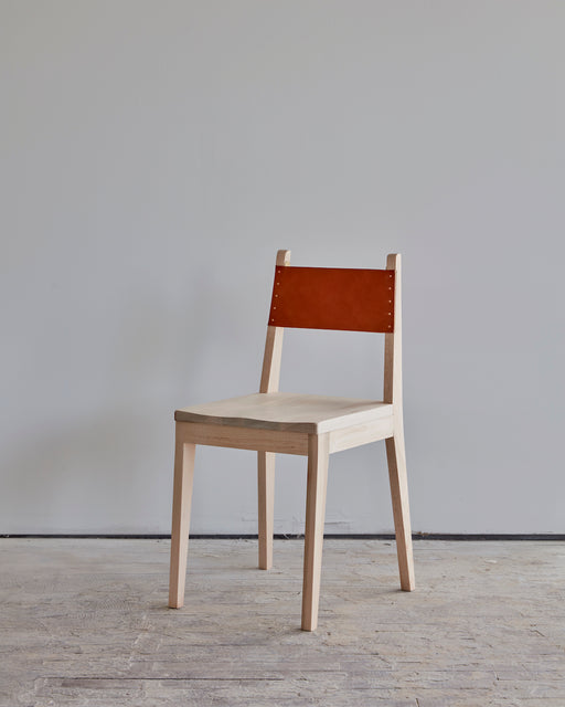 LOSTINE - NO.24 CHAIR - LEATHER AND WOOD - SEATING - FURNITURE