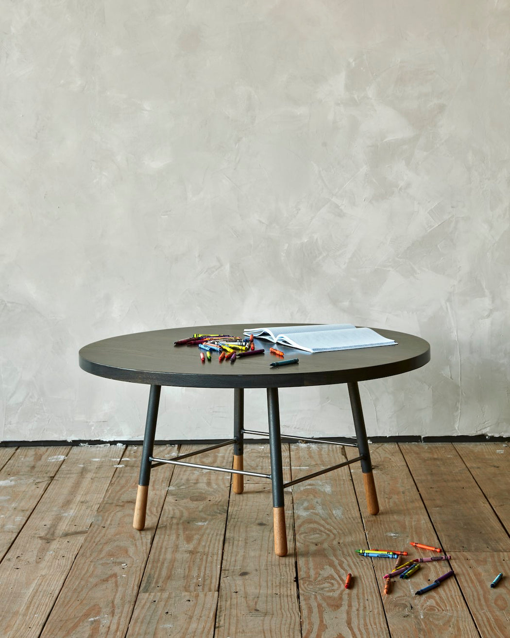 Round coffee table - furniture- Lostine