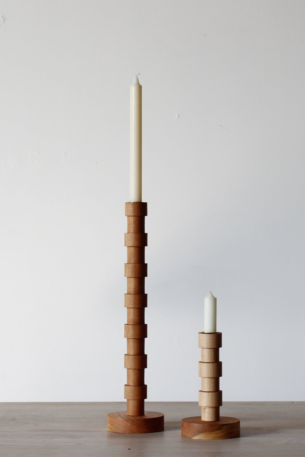 Lositne Franc Wooden Candle Holder modern