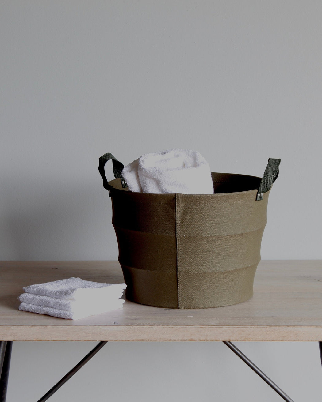 lostine austin canvas basket