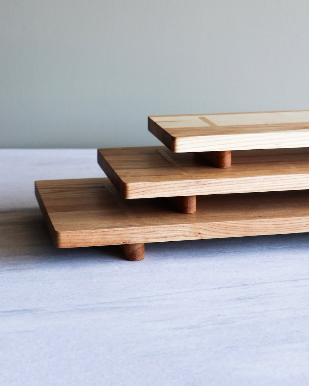 trio of kitchen planks