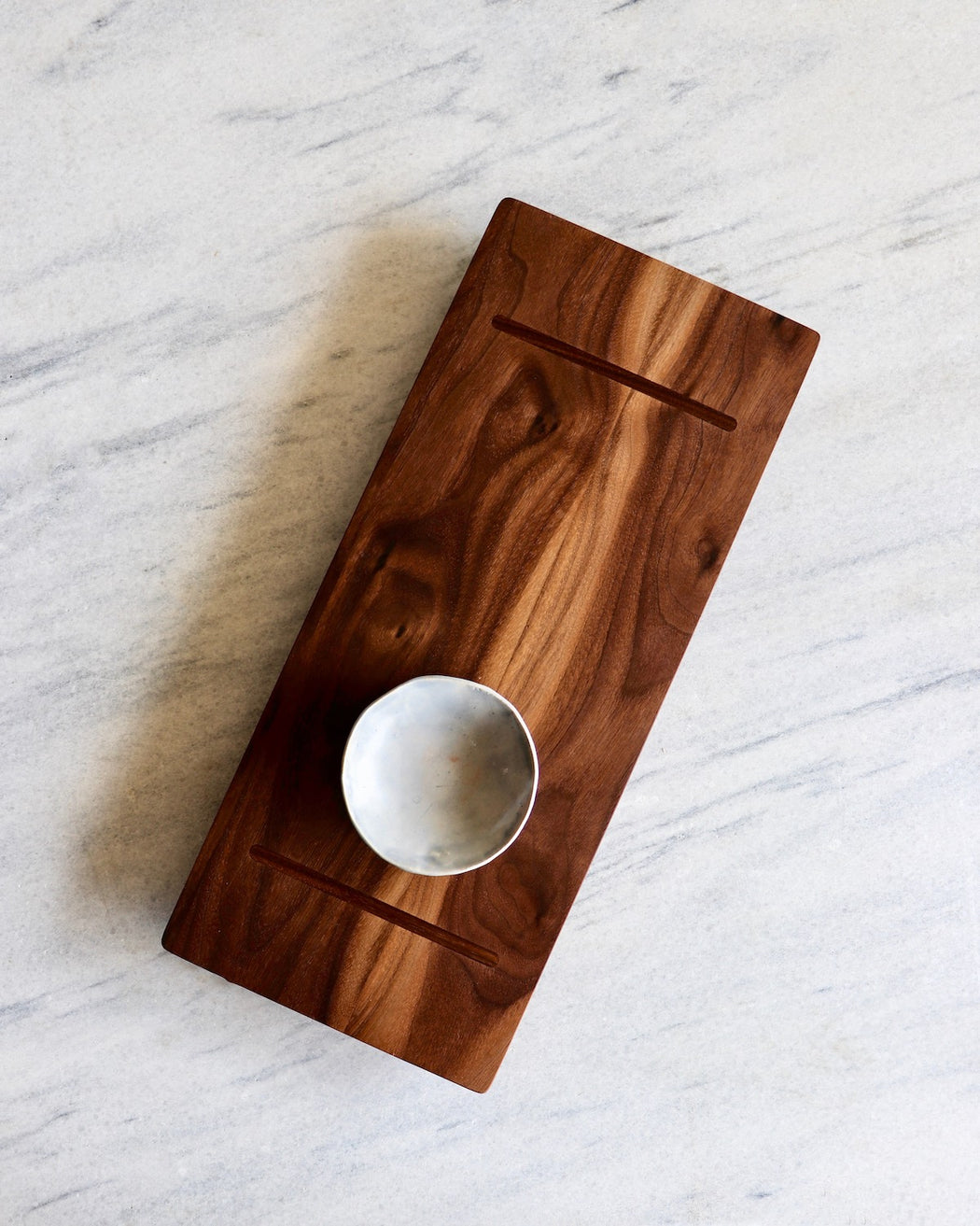 walnut handmade serving board