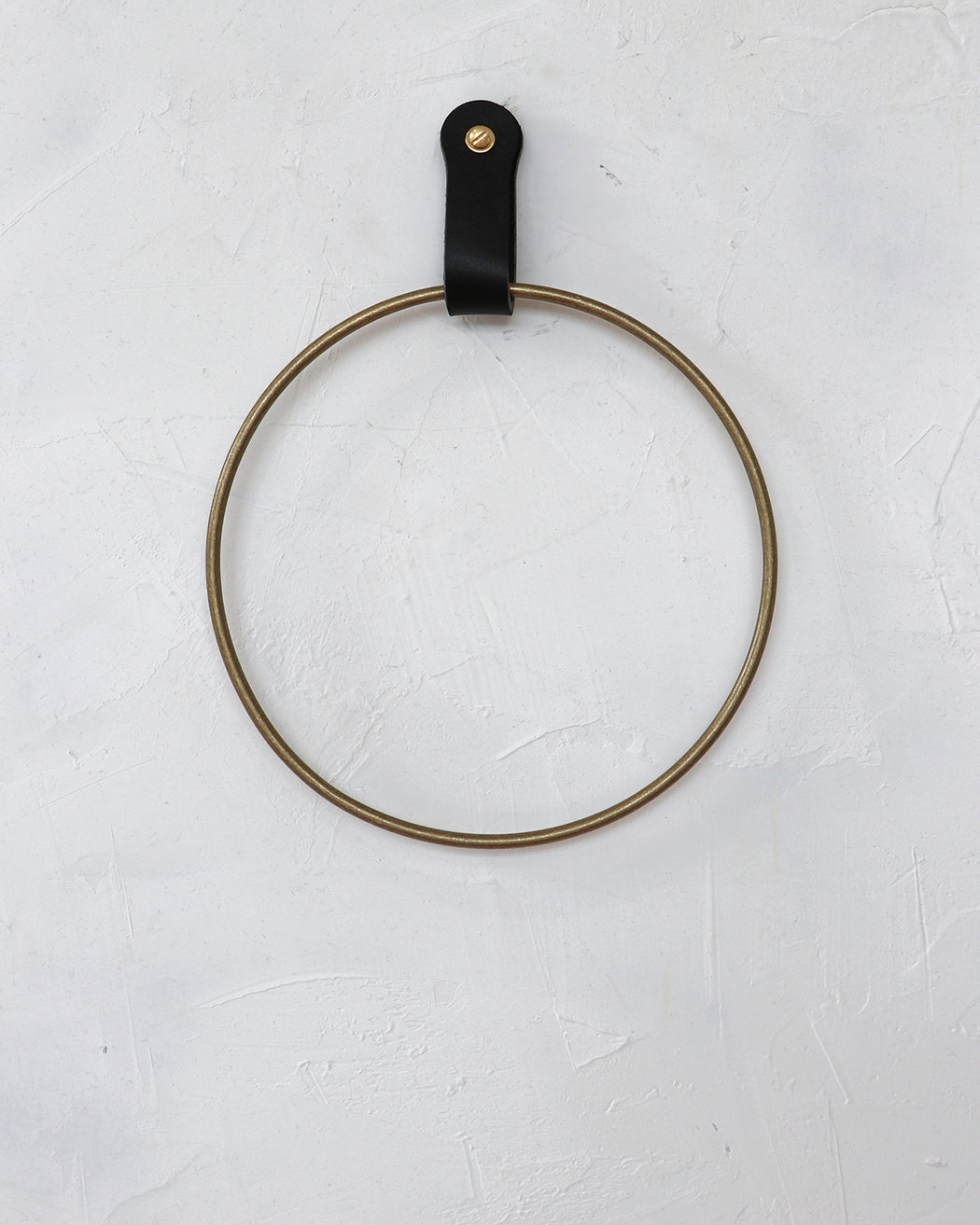 Ludlow Towel Ring - Black