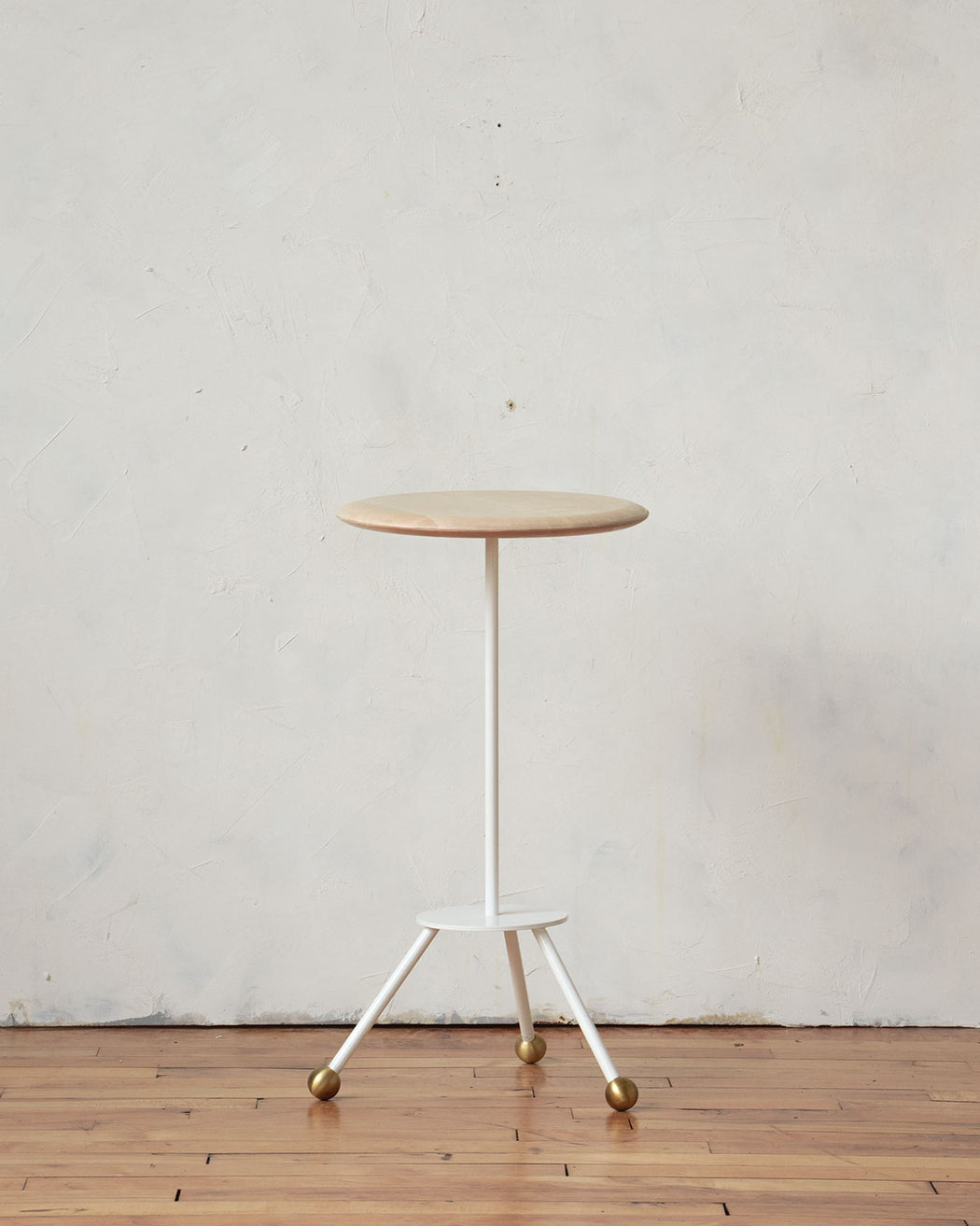 Calvin Side Table - Ivory