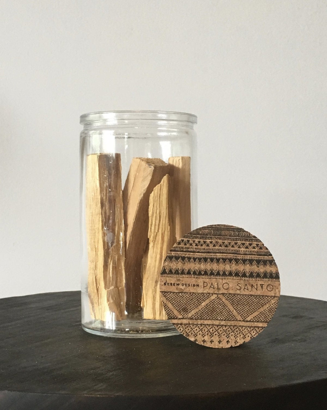 Palo Santo Sticks in jar