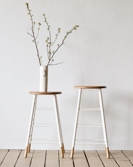 white bar or counter stool