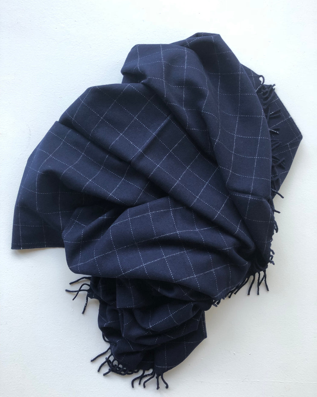 windowpane lambswool throw