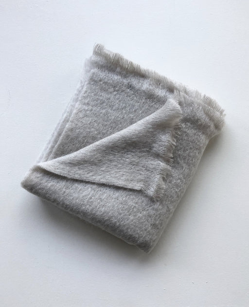 Mohair Throw - Greige