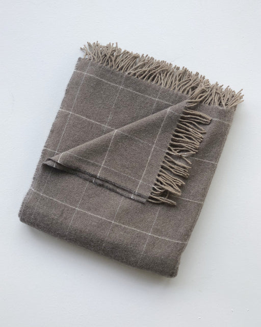 Windowpane Throw - Woodsmoke