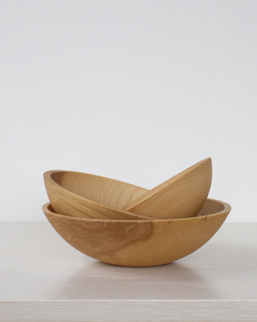 Set of 3 Nesting Bowls - Beech Wood -  - Lostine