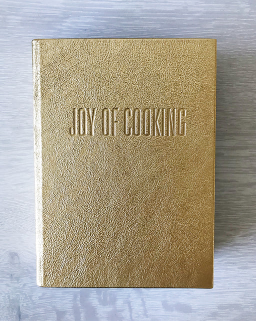 Leather-bound Joy of Cooking