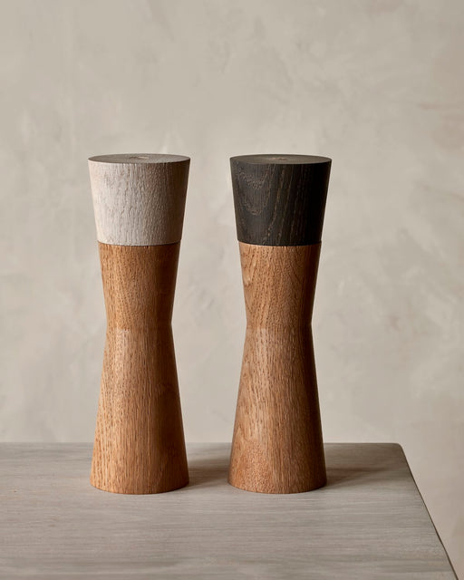 pepper mill , salt mill wooden