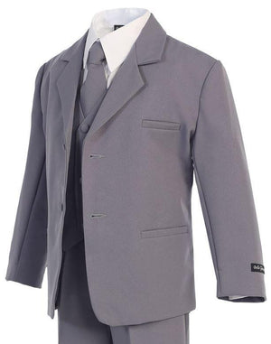 Classic Formal Boys Suit - Gray
