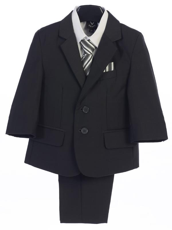 Executive Boys Dark Grey Suit (18) - Malcolm Royce