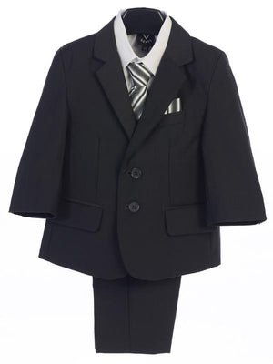 Premium Boys Dark Grey Suit (3582)