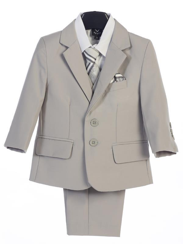 Executive Boys Light Grey Suit (18) - Malcolm Royce