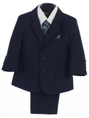 Premium Boys Navy Suit (3582)