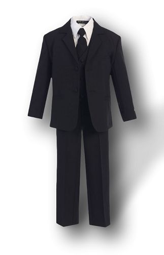 Black Formal Boys Suit