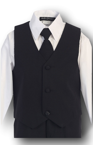 Boys Black Formal Wear